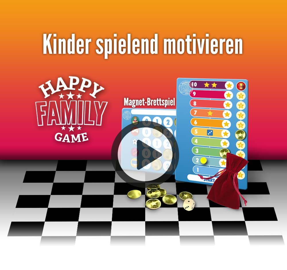 Happy Family Game Video - Kinder spielend motivieren - motivate your kids easily